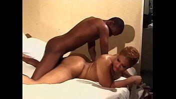 Big booty Ebony Tgirl ass fucked