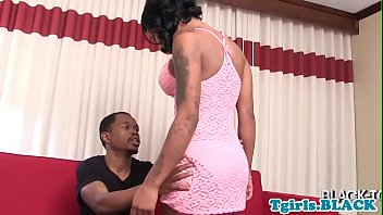 Big Tits Black Transsexual Ass fucked After Blowjob