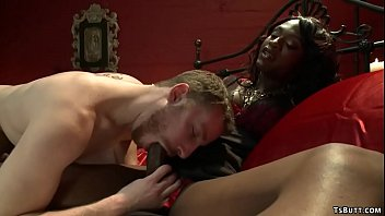 Shemale Dominatrix Chanel Couture Ass Fucking Slave Male