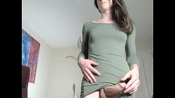 Brunette Big Dick Tranny Webcam Tube Sex Show