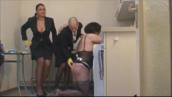 Femdom Mistresses Fist Fucking Sissy Crossdressing Slut
